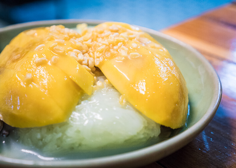 Why Cooking Love Chiang Mai Is So Popular | mango sticky rice