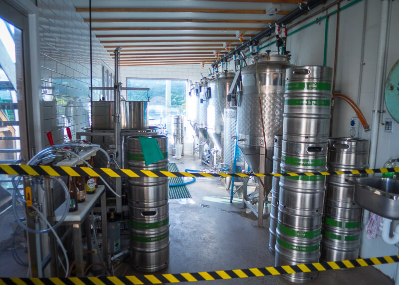 port campbell hostel - beer brewery
