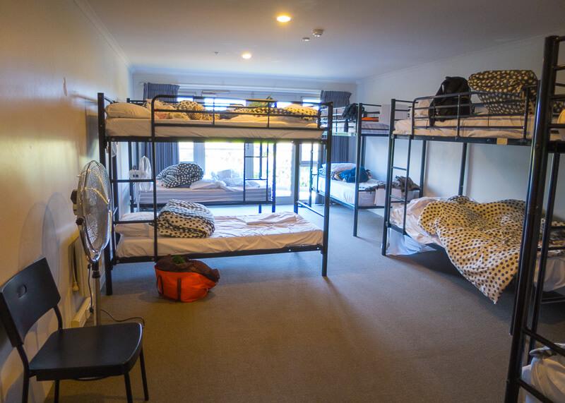port campbell hostel - dorm room