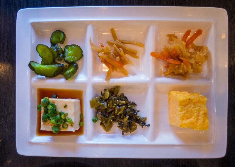 Best Western Tokyo Nishikasai - pickled vegetables
