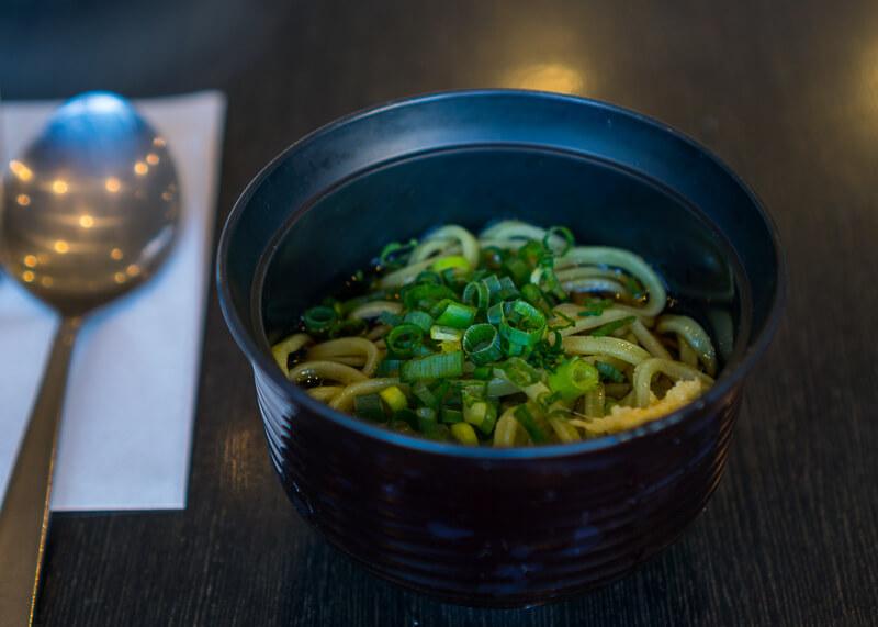 Best Western Tokyo Nishikasai - udon dish