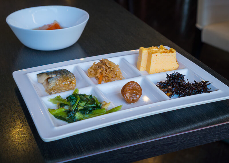 Best Western Tokyo Nishikasai - breakfast plate