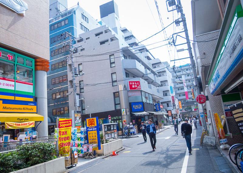 Best Western Tokyo Nishikasai - main road