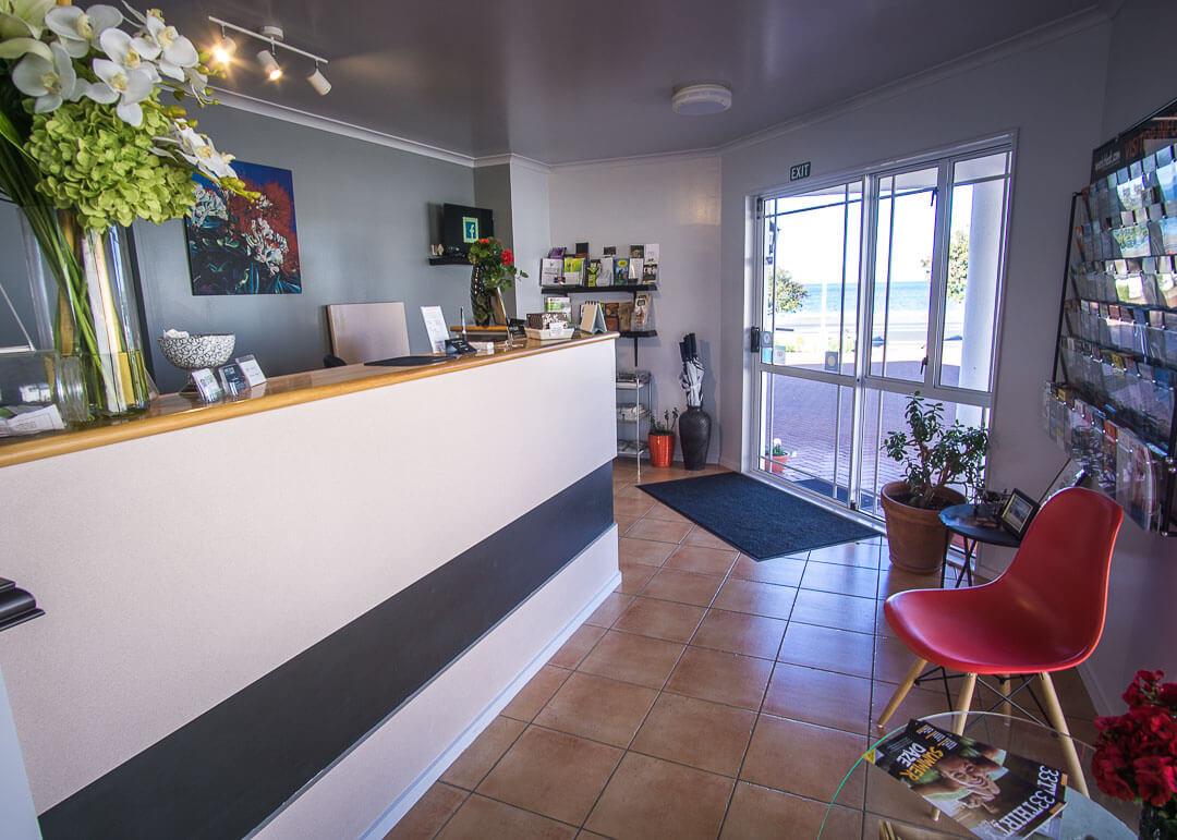 Executive Motel Taupo New Zealand - reception