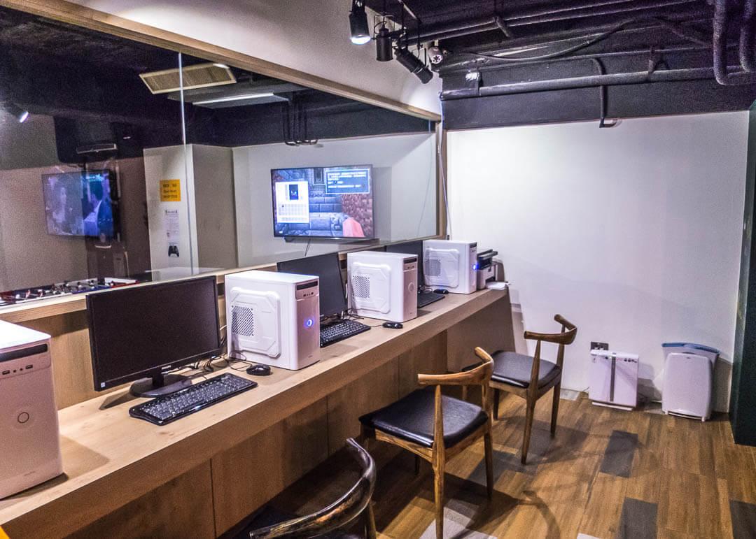 Legend hotel Kaohsiung pier2 - PC lounge