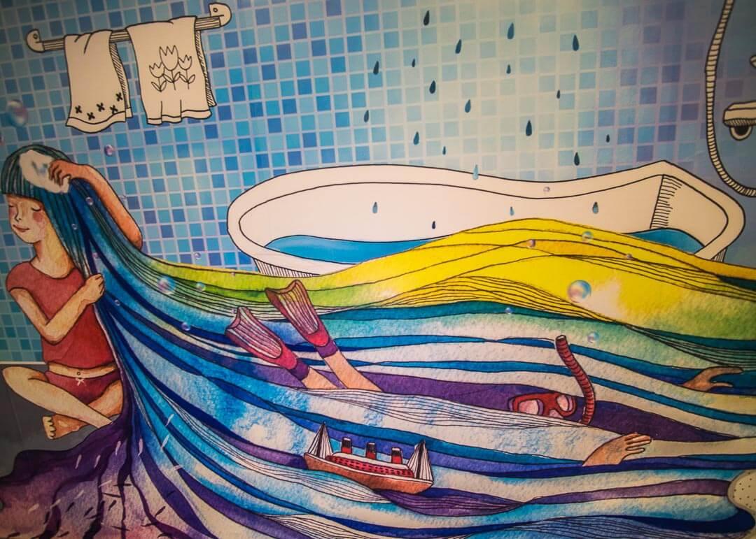 Legend hotel Kaohsiung pier2 - Wall murals
