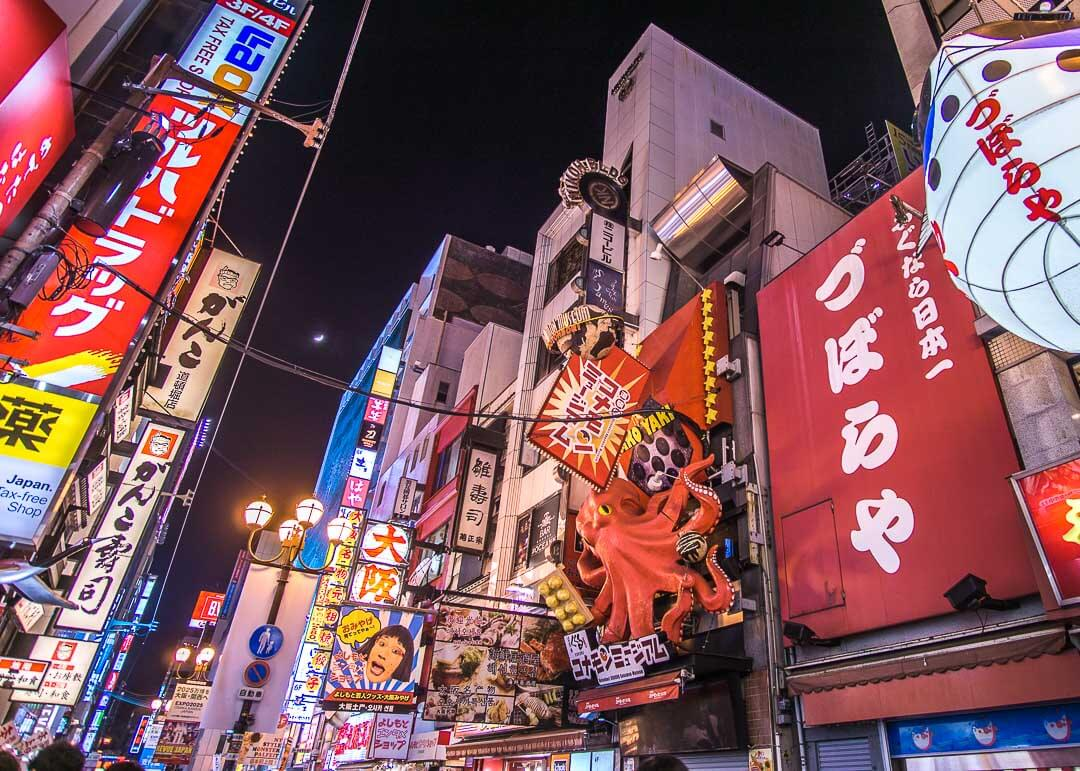 top things to do in Osaka Japan - dotonbori