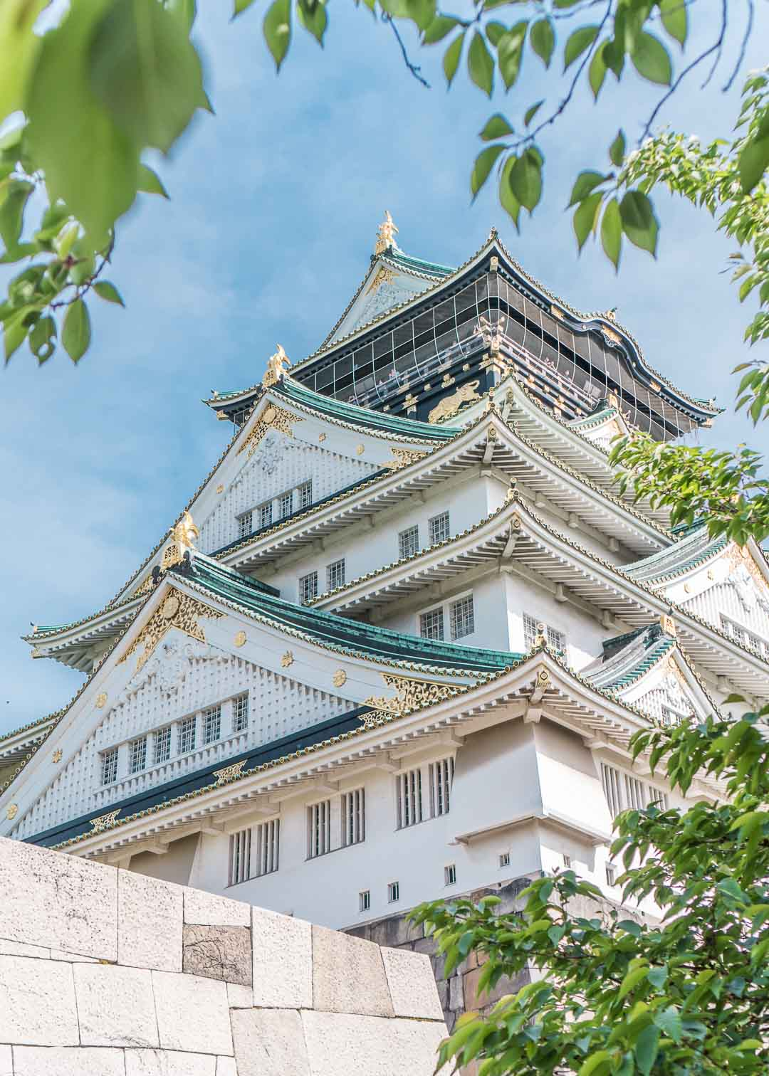 top things to do in Osaka Japan - Osaka castle