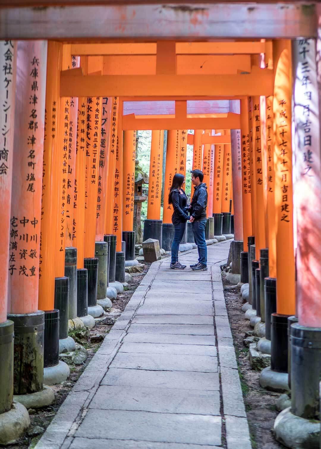 Best Day Trips Osaka Japan - Fushimi Inari-Taisha Shrine in Kyoto