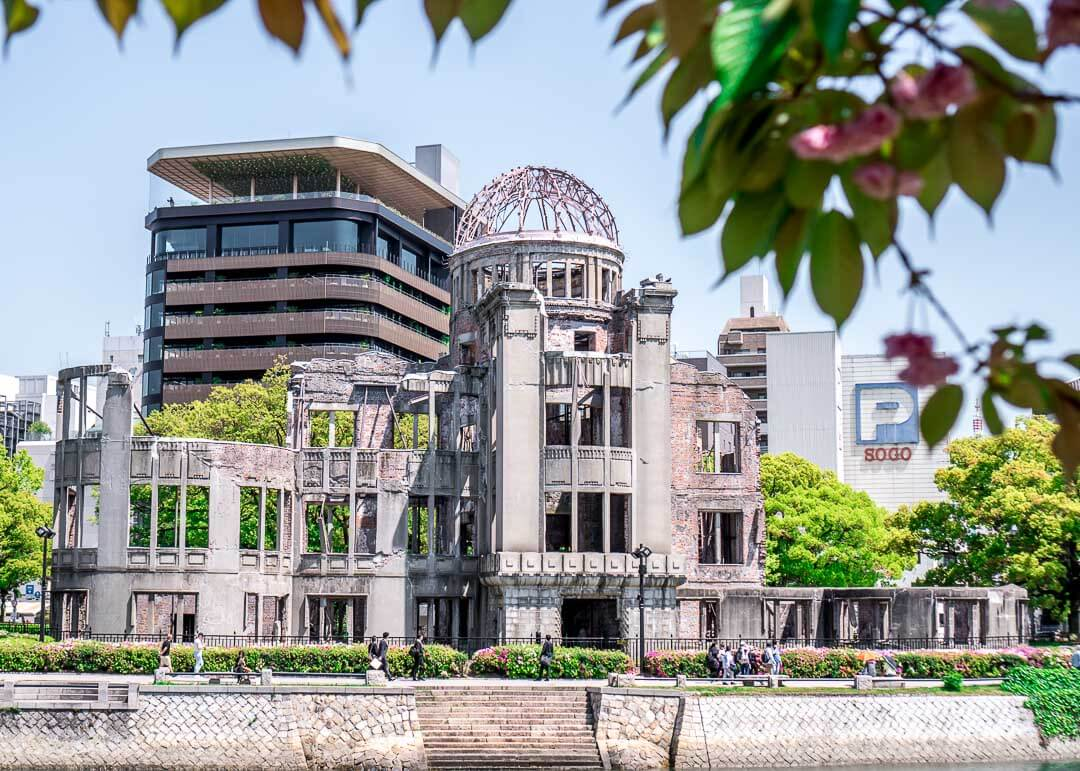 Best Day Trips Osaka Japan - hiroshima dome