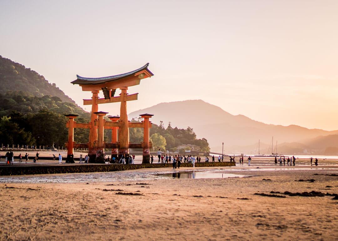 Best Day Trips Osaka Japan - Miyajima shrine