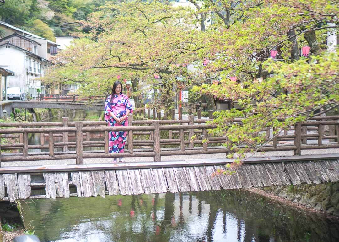 Best Day Trips Osaka Japan - Kinosaki Onsen