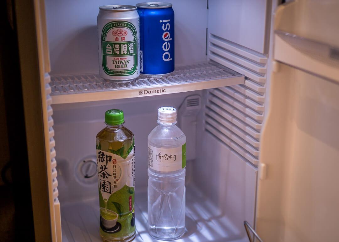 Courtyard Marriott Taipei - mini fridge