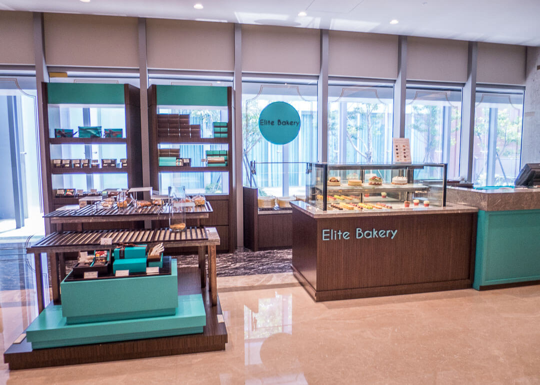 Courtyard Marriott Taipei - bakery