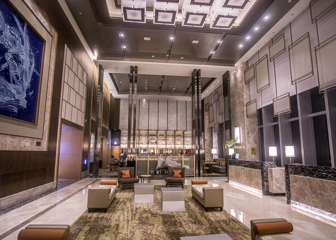 Courtyard Marriott Taipei - lobby