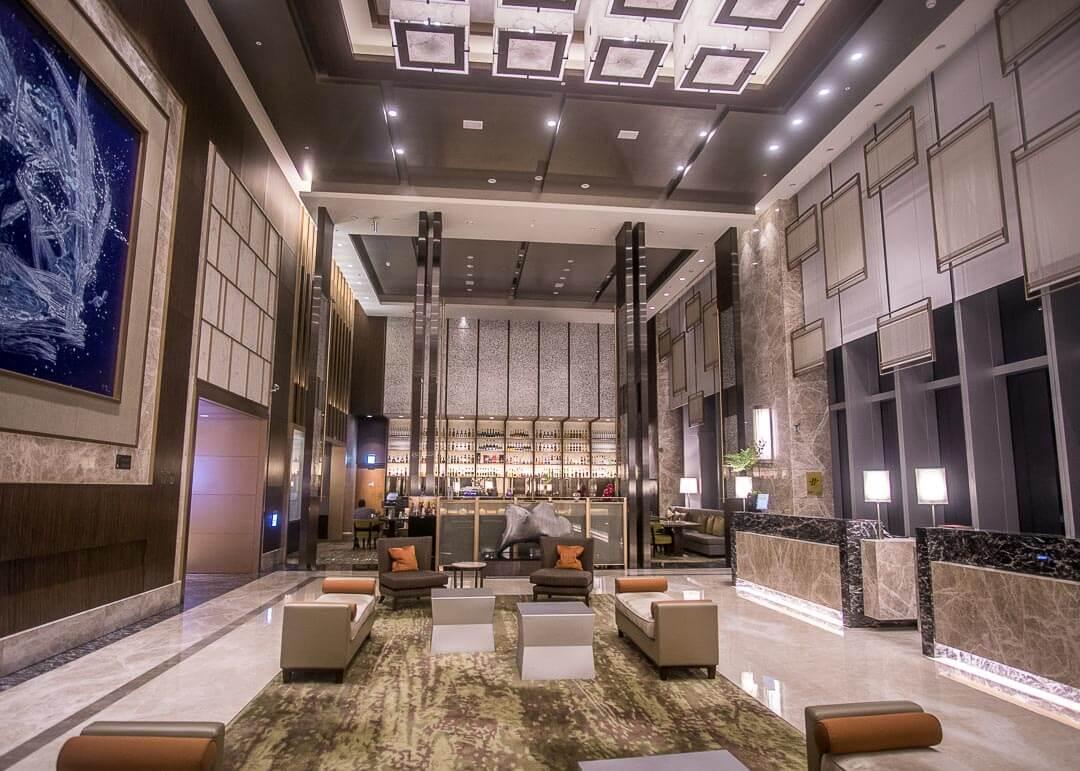Courtyard Marriott Taipei - lobby