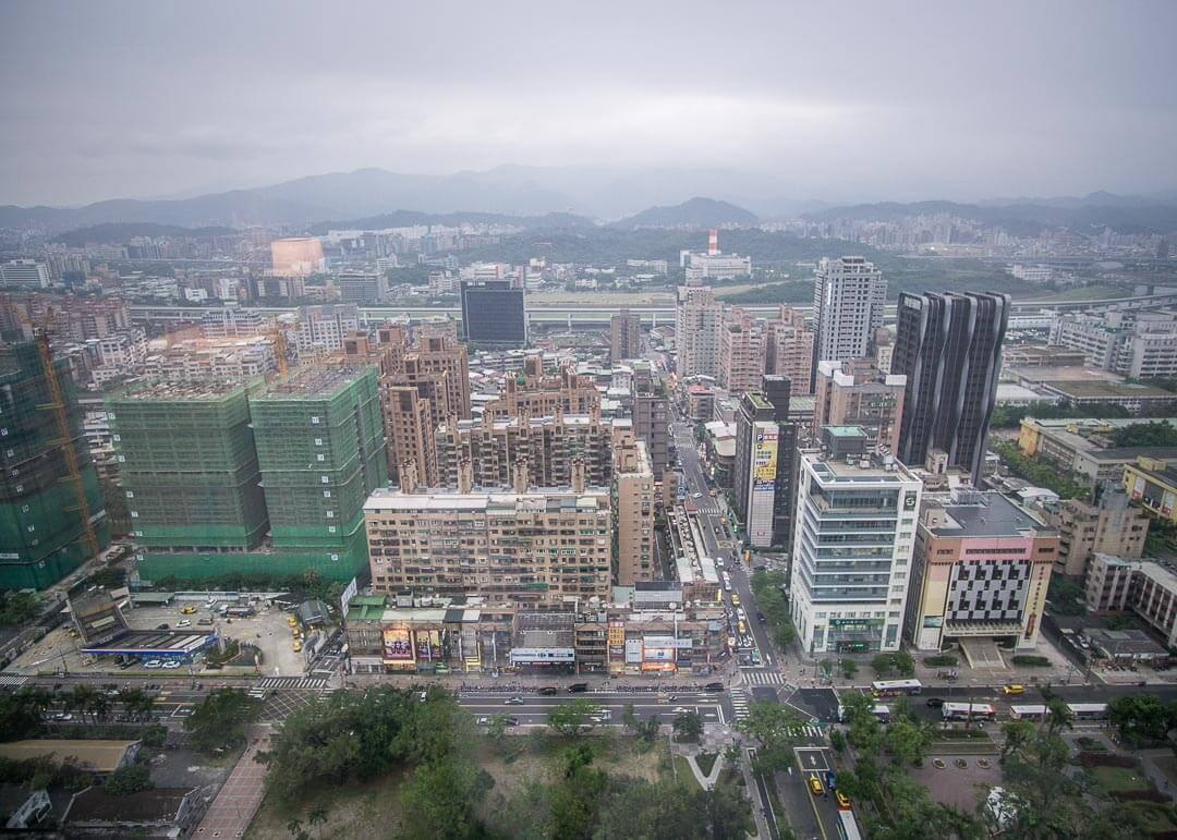 Courtyard Marriott Taipei - room view