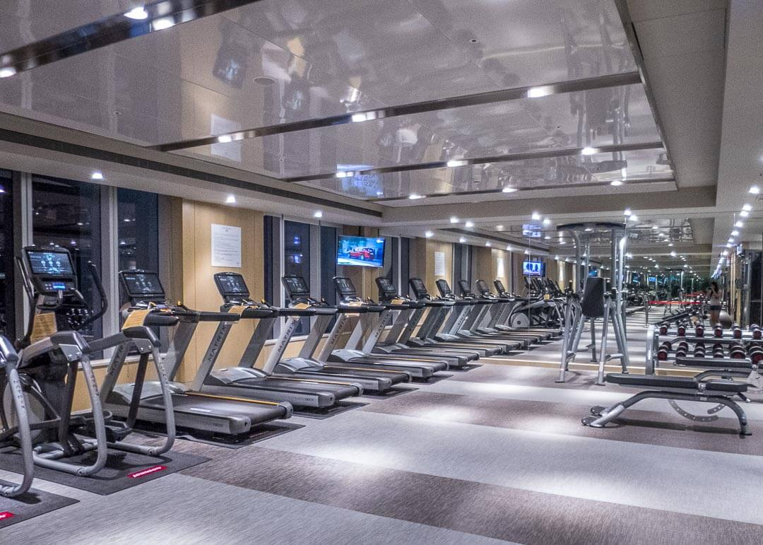 Courtyard Marriott Taipei - gym