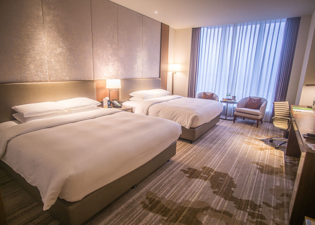 Courtyard Marriott Taipei - room