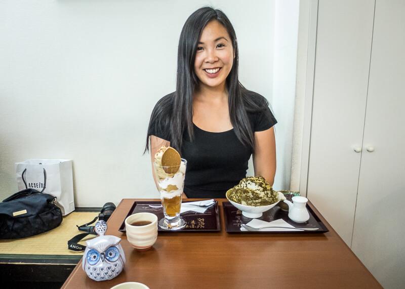 modern nomad life japan taiwan - japan dessert