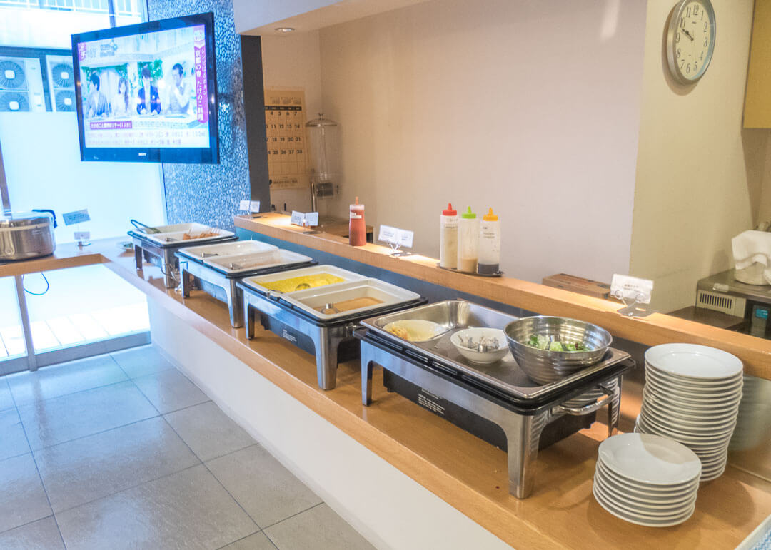 Best Western Hotel Fino Osaka Shinsaibashi - Breakfast buffet