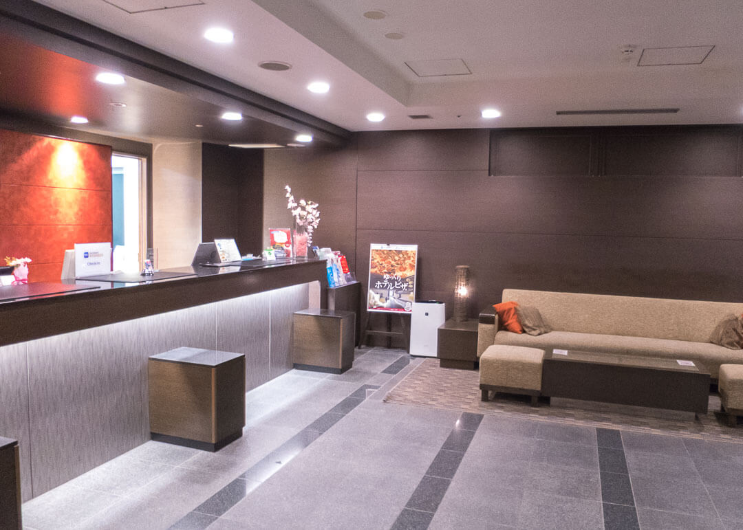 Best Western Hotel Fino Osaka Shinsaibashi - Reception