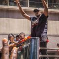 Raptors championship celebration parade - Serge Ibaka