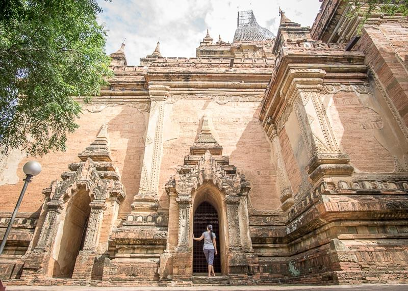 Bagan travel blog - Shwe Leik Too hidden areas