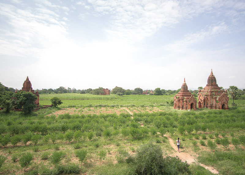 Bagan travel blog - Shwe Leik Too quiet area