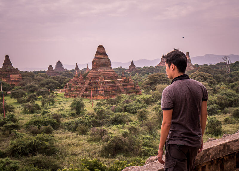 Bagan travel blog - Shwegugyi Temple stunning viewpoints