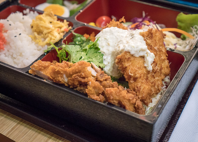 bangkok travel blog - bento box lunch