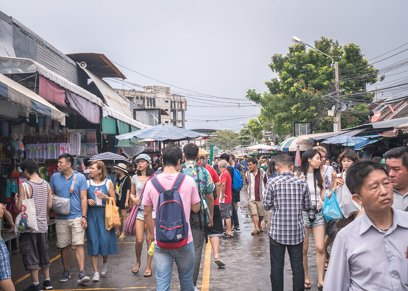 bangkok travel blog - Chatuchak market