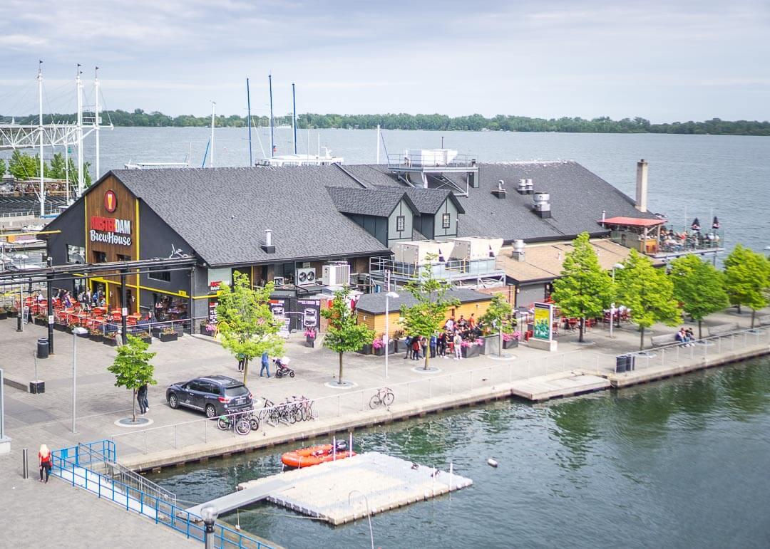 Radisson Harbourfront Toronto - harbourview