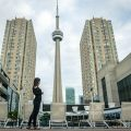 Radisson Harbourfront Toronto - CN tower view