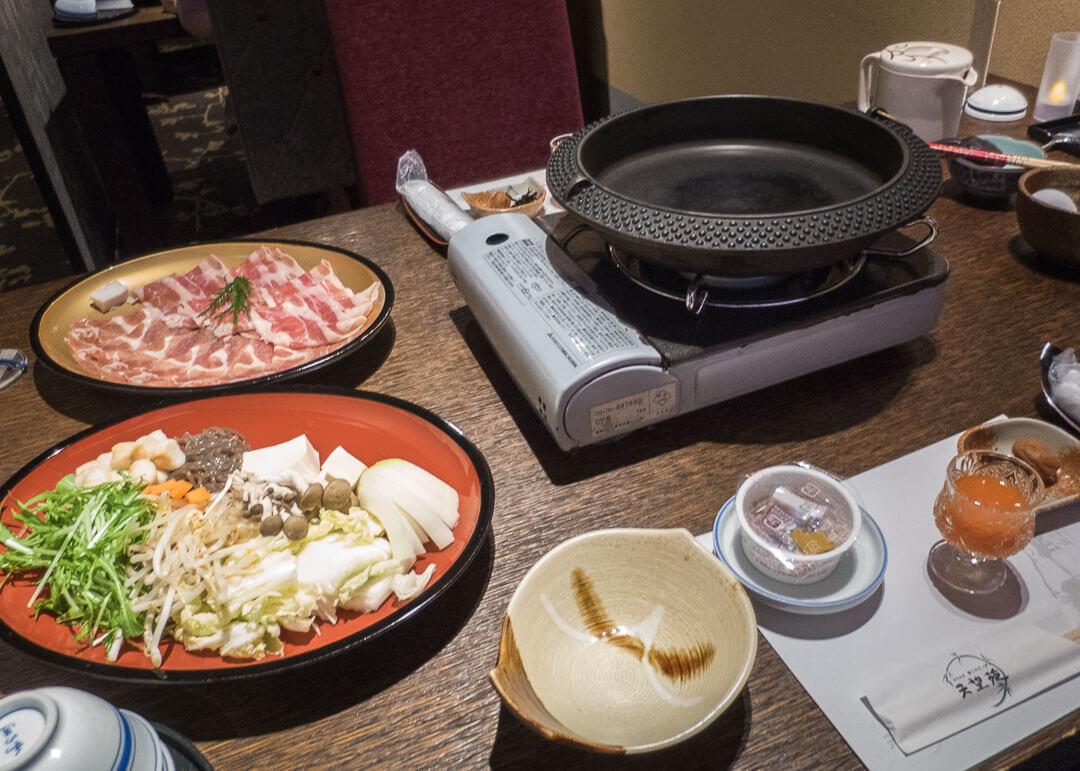 Tenbouen Kinosaki Ryokan - breakfast
