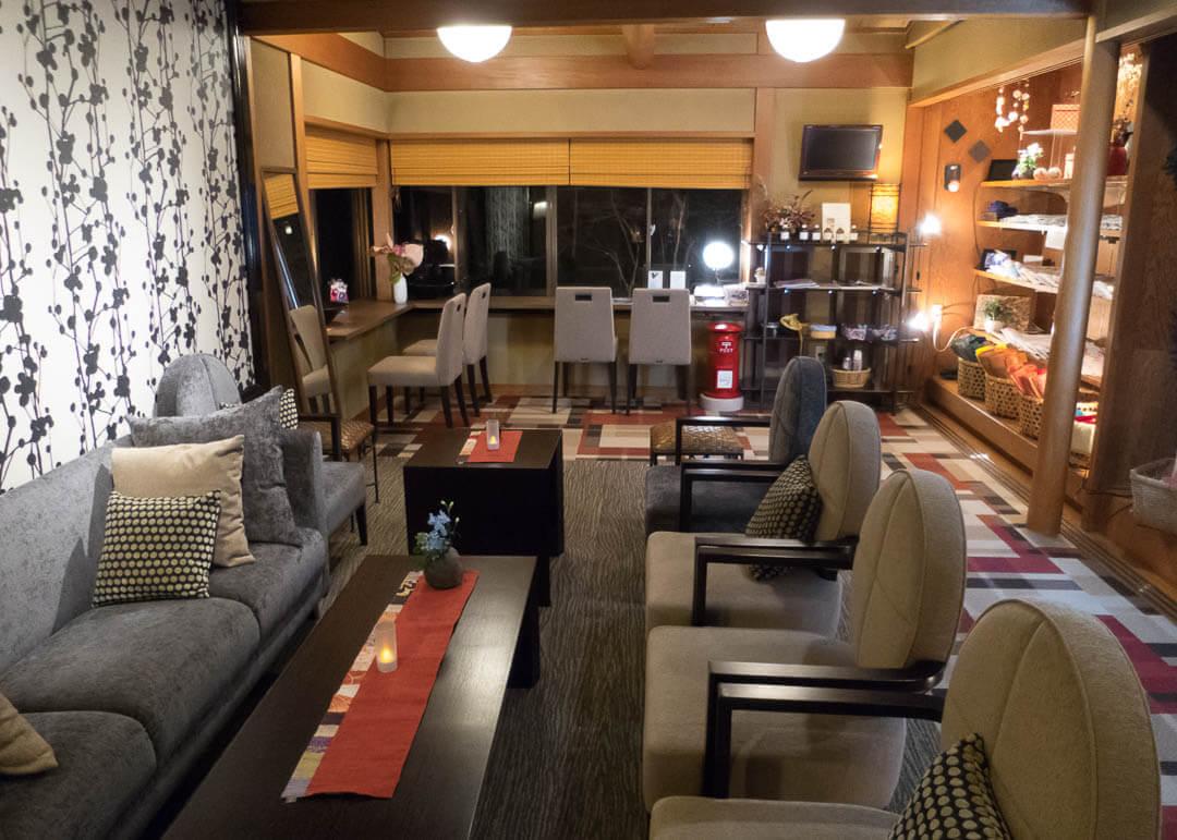 Tenbouen Kinosaki Ryokan - lounge