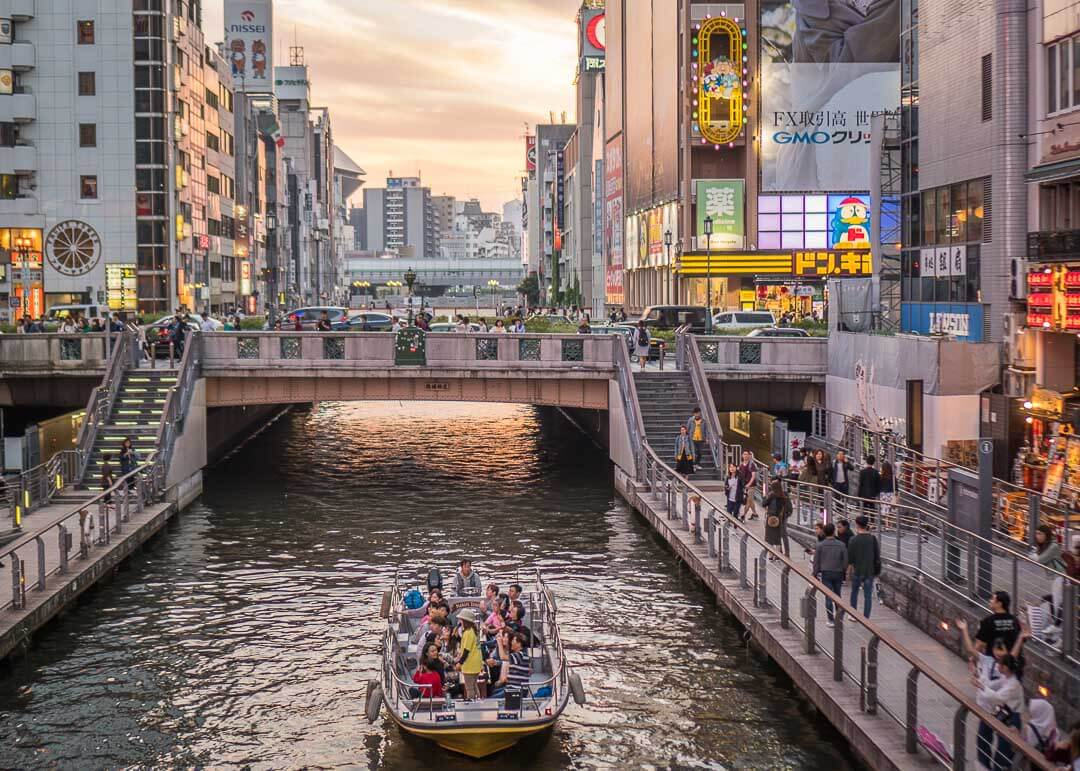 What To Do In Dotonbori - Tonbori River