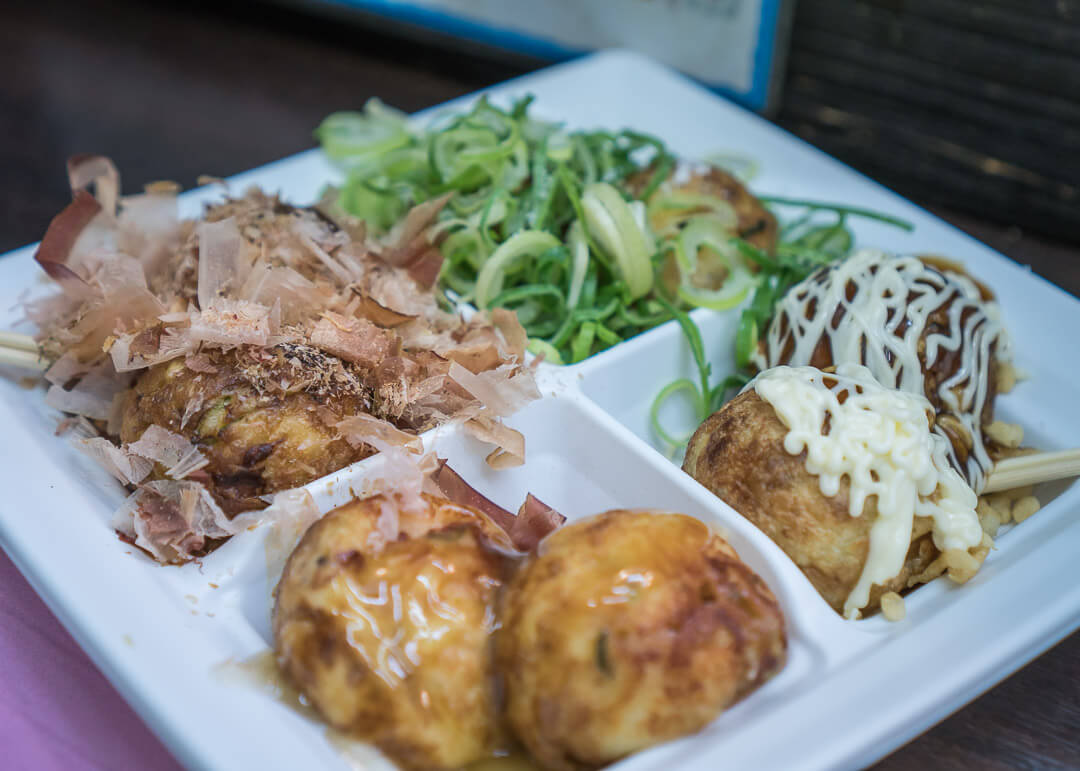 What To Do In Dotonbori - Takoyaki from Wanaka