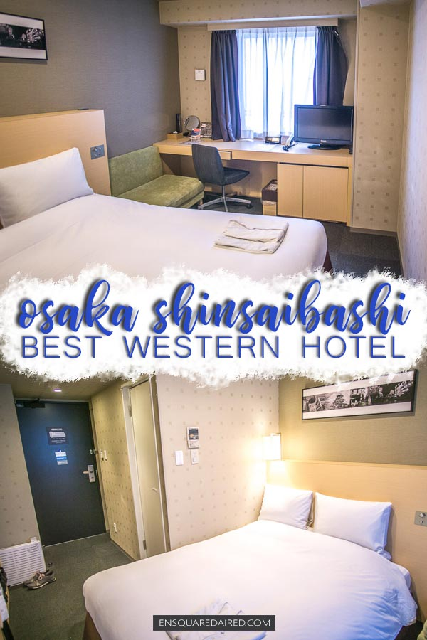Best Western Hotel Fino Osaka Shinsaibashi - pin