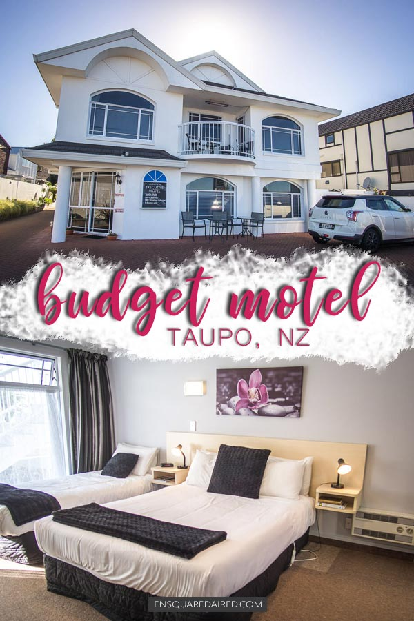 Executive Motel Taupo New Zealand - pin