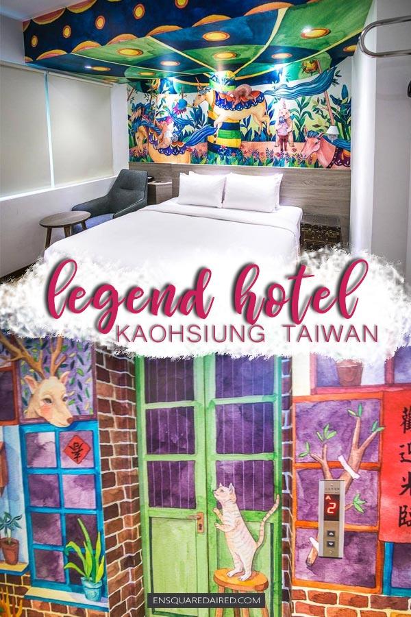 Legend hotel Kaohsiung pier2 - pin