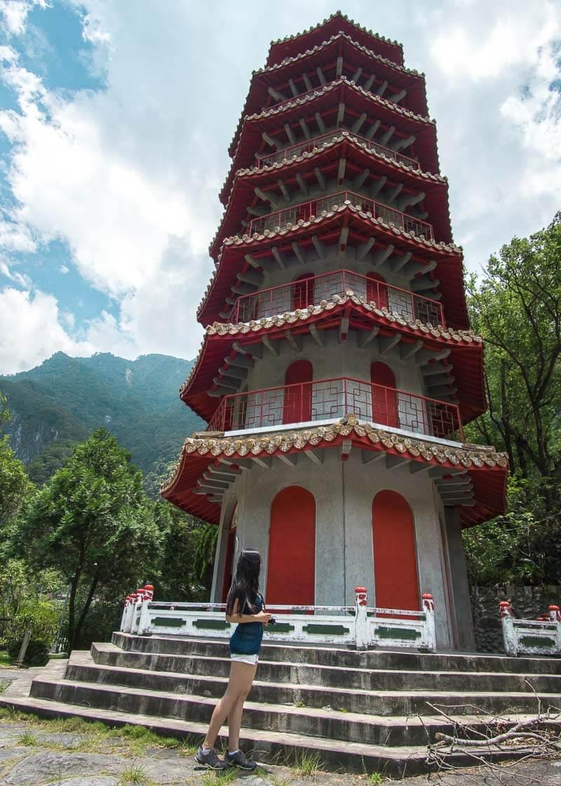 modern nomadic lifestyle - hualien taroko gorge tower