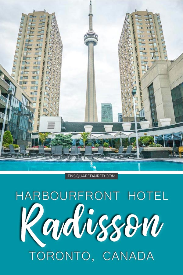 harbourfront hotel pin