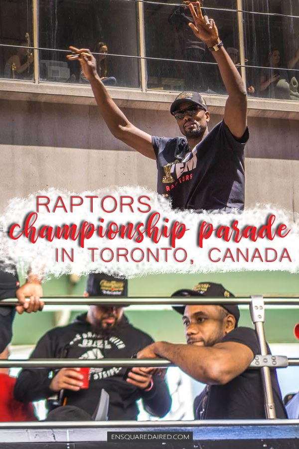 raptors champtionship parade pin