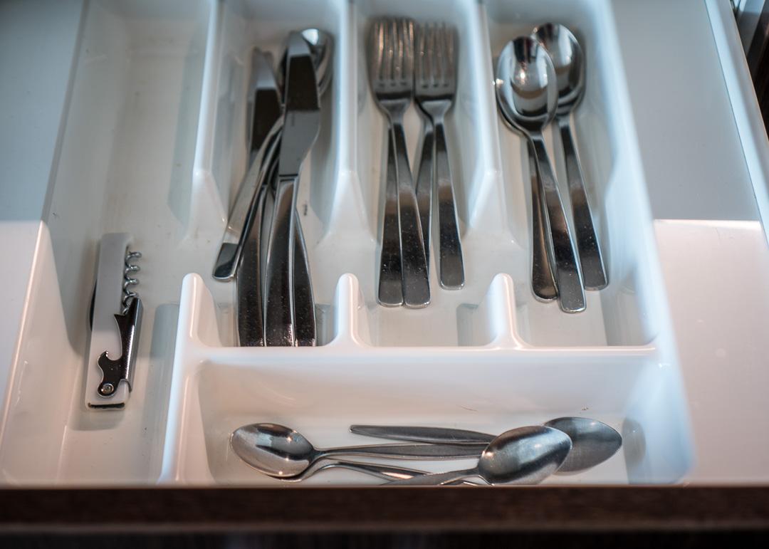 Rydges Hotel Wellington New Zealand - cutlery