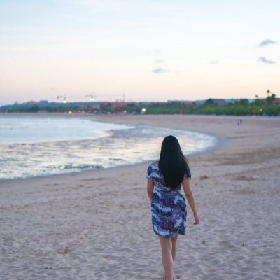 A Moment Of Reflection In Bali Nusa Dua