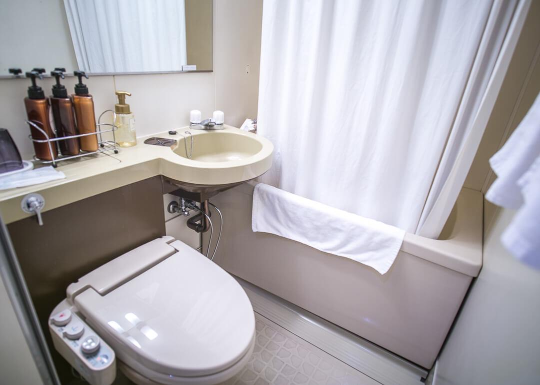 Hiroshima Pacific Hotel - bathroom