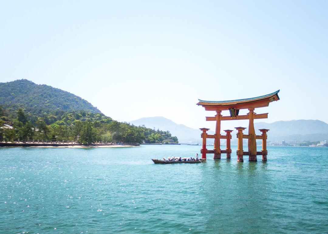 Hiroshima Pacific Hotel - Itsukushima Floating Torii Gate