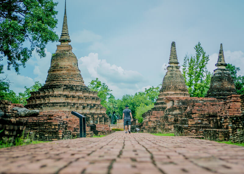 nomad living - sukhothai historical park