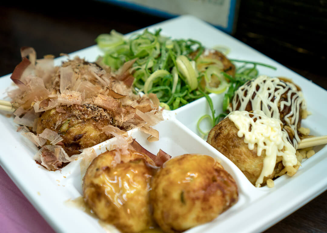 Osaka cheap eats - Takoyaki